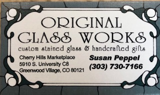 Original Glass Works Business Card